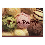 Tarjeta de la invitación del fiesta