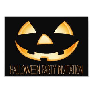 Tarjeta de la invitación del fiesta de Halloween