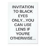 Tarjeta de la invitación invitación 12,7 x 17,8 cm