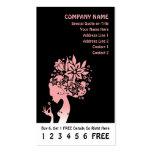 tarjeta de la lealtad de la madre naturaleza plantilla de tarjeta de negocio