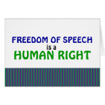 Tarjeta de la libertad de expresión
