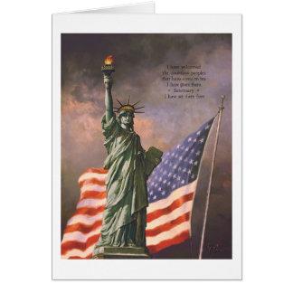 """Tarjeta de la """"libertad"""" de Paul McGehee"""