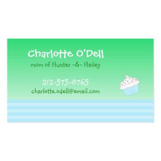 tarjeta de la mamá de la magdalena tarjetas de visita
