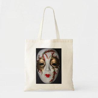 Tarjeta de la máscara de la mascarada bolsas