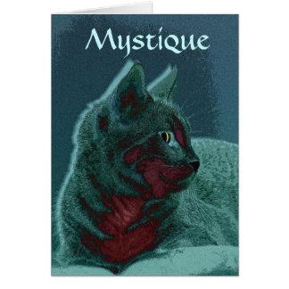 Tarjeta de la mística