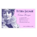 Tarjeta de la moda del vintage para el diseñador,  plantillas de tarjeta de negocio