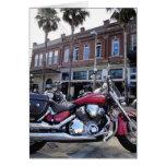 Tarjeta de la motocicleta