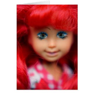 Tarjeta de la muñeca