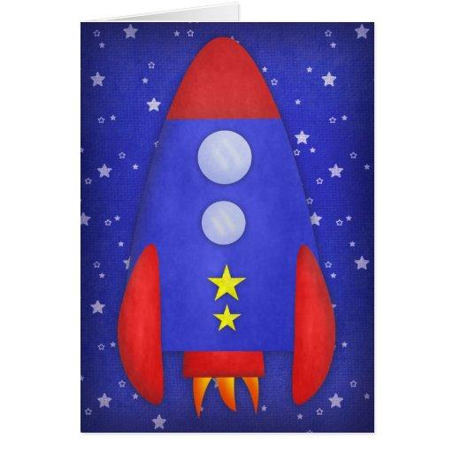 Tarjeta de la nave de Rocket