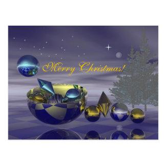 Tarjeta de la Nochebuena Postales