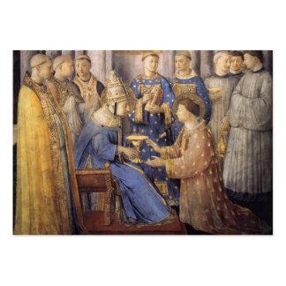 Tarjeta de la ordenación del diaconato (LATINA) Tarjetas De Visita