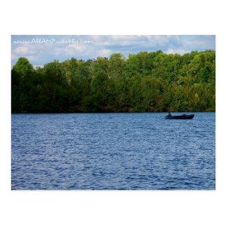 Tarjeta de la pesca tarjetas postales