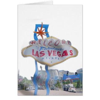 ¡Tarjeta de la precipitación de Las Vegas! Tarjeta De Felicitación