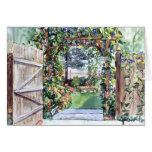 Tarjeta de la puerta de jardín de PMACarlson