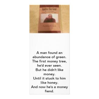 Tarjeta de la quintilla de Caldwell Lee del poeta Lonas Personalizadas