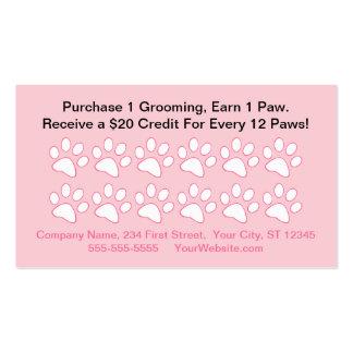 Tarjeta de la recompensa del cliente de la prepara plantilla de tarjeta personal