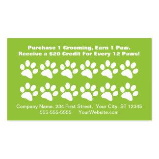 Tarjeta de la recompensa del cliente de la prepara tarjeta de negocio