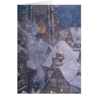 Tarjeta de la reina de la nieve de Dulac