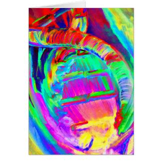 Tarjeta de la réplica de la DNA