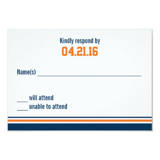 Tarjeta de la respuesta de Mitzvah de la barra de Invitación 8,9 X 12,7 Cm