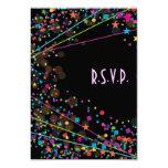 Tarjeta de la respuesta de RSVP del fiesta del Invitación Personalizada