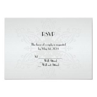 Tarjeta de la respuesta del país de las maravillas invitación 8,9 x 12,7 cm