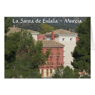 Tarjeta de La Santa de Eulalia Monastery, Totana