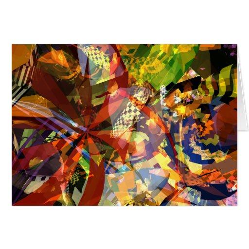 Tarjeta de la serie #01 de la fiesta del enredo