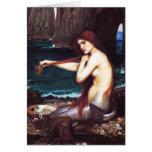 Tarjeta de la sirena de John William Waterhouse