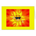 Tarjeta de la sol