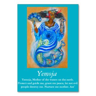 Tarjeta de la tabla de Yemoja