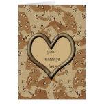 Tarjeta de la tarjeta del día de San Valentín de C