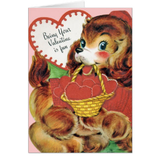 ¡Tarjeta de la tarjeta del día de San Valentín del