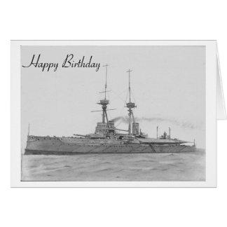 Tarjeta de la vanguardia del HMS