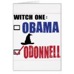 Tarjeta de la vertical de la bruja de O Donnell