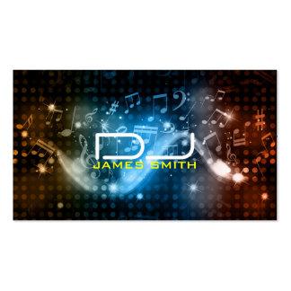 Tarjeta de la visita de DJ Tarjeta De Visita