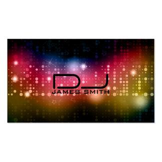 Tarjeta de la visita de DJ Plantillas De Tarjetas Personales