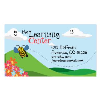 Tarjeta de la visita de los niños tarjetas de visita