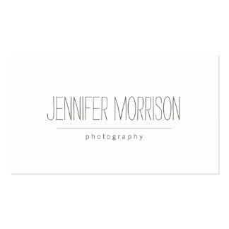 Tarjeta de la visita del fotógrafo manuscrito tarjetas de visita