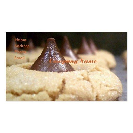 Tarjeta de la visita del panadero plantilla de tarjeta personal