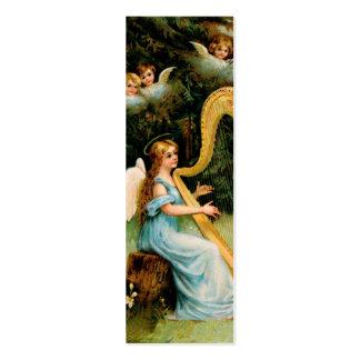 Tarjeta de las bendiciones del ángel - notas del tarjetas de visita mini