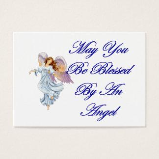 Tarjeta de las bendiciones - puede usted ser tarjetas de visita grandes