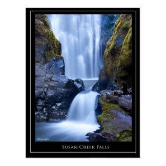 Tarjeta de las caídas de la cala de Susan Postales