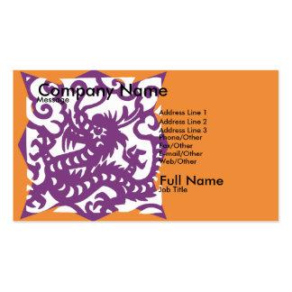 Tarjeta de las cometas tarjeta de negocio
