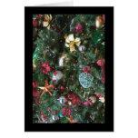 Tarjeta de las decoraciones del navidad