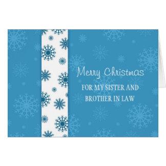 Tarjeta de las Felices Navidad de la hermana y del