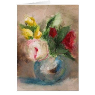 tarjeta de las flores