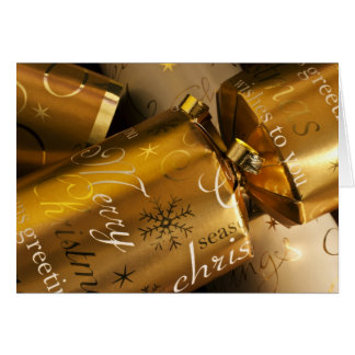 Tarjeta de las galletas del navidad