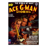 Tarjeta de las historias del G-Man del as