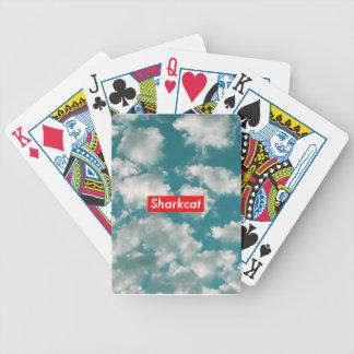 Tarjeta de las nubes baraja cartas de poker